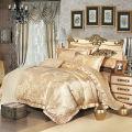 素敵なローズ柄に刺繍のある豪華な寝具セット