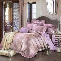 高貴な紫色の寝具カバーセット
