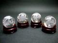 四神彫刻水晶玉セット