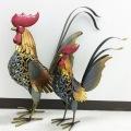 鶏のアイアンアート 小・大