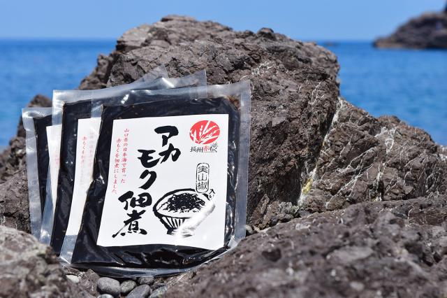 【送料無料】アカモク佃煮 100g×5袋  【実山椒入り】