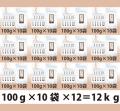 パウダー茶 インスタント茶 【オリジナルシリーズ】業務用 風雅園 粉末麦茶 【給茶機対応】 2000杯分(100g×10袋)×12箱