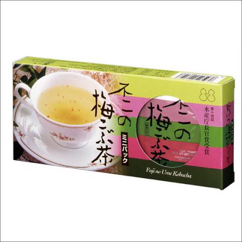 不二食品 梅こぶ茶 ミニパック (2g×21包)×10