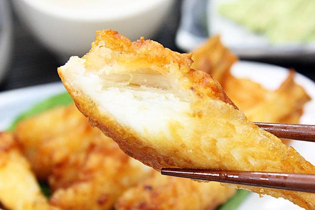 中骨だけなので、他の魚と比べて食べ易い