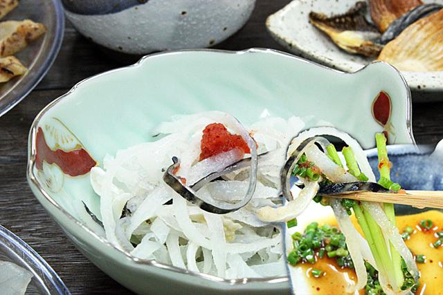 魚重のとらふぐ湯引き皮は、国産の本皮100%です