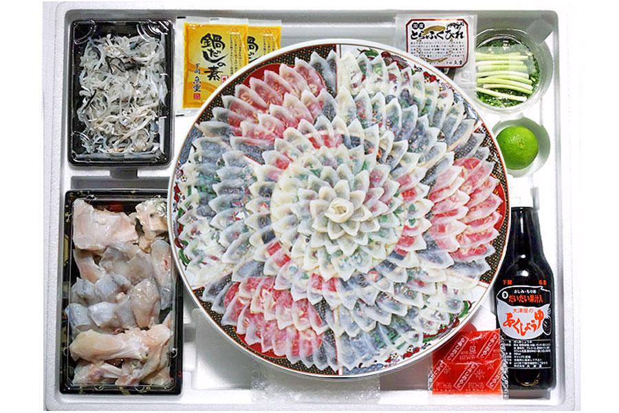 ふぐの魚重が送る、食卓に映えるうまいてっさしとてっちり!