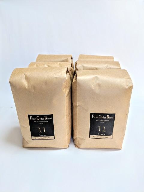 フレッシュ焙煎 フジスペシャル6Kg豆(1kgX6)