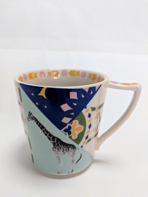 アンソロポロジー キリン柄マグカップ
