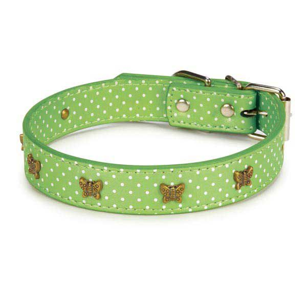 East Side Collection Canine Charmers Dog Leads & Collars Set/Butterfly