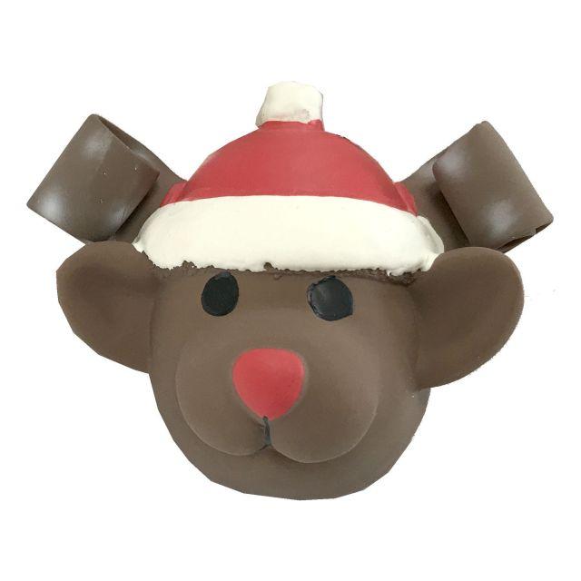 TopZoo Latex Christmas Ball/BROWN