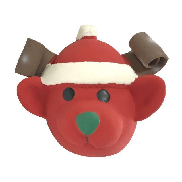 TopZoo Latex Christmas Ball/RED