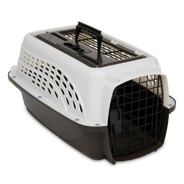 PETMATE 2-DOOR KENNELS/Pearl White
