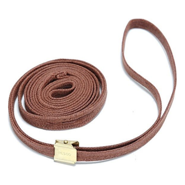 "Resco Cordo-Hyde Show Leads 56"" x 3/16""/Tan"