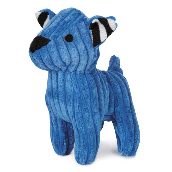 ZANIES CORDUROY CUTIES DOG TOYS/Blue
