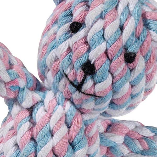 ZANIES ROPE BEARS DOG TOYS