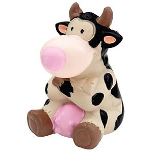 ZANIES LATEX DOG TOY/Cow
