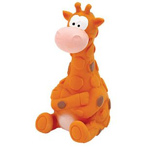 ZANIES LATEX DOG TOY/Giraffe