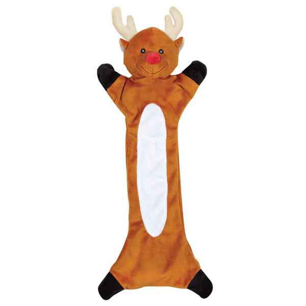 ZANIES Festive Unstuffies Reindeer