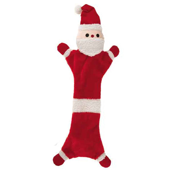 ZANIES Festive Unstuffies Santa