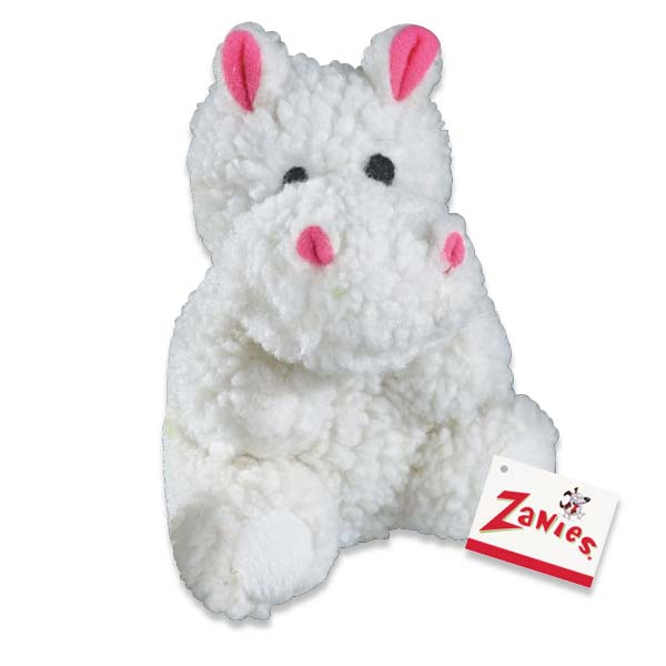 ZANIES Fleecy Friend Toy Hippo