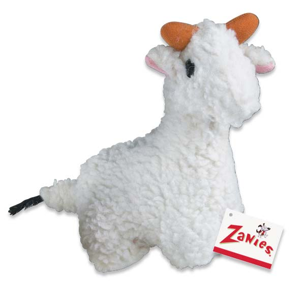 ZANIES Fleecy Friend Toy Llama