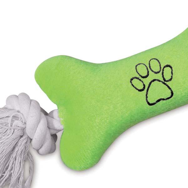 ZANIES TINY TUGGERS DOG TOYS/Green