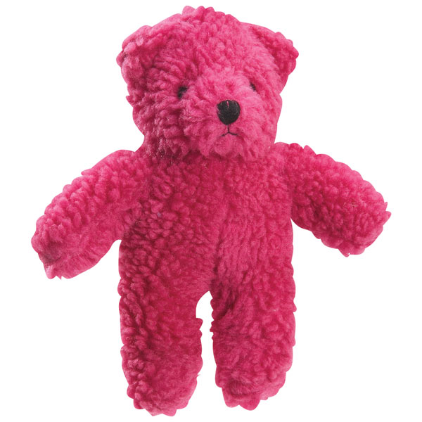 ZANIES BERBER BEARS DOG TOYS / Cranberry
