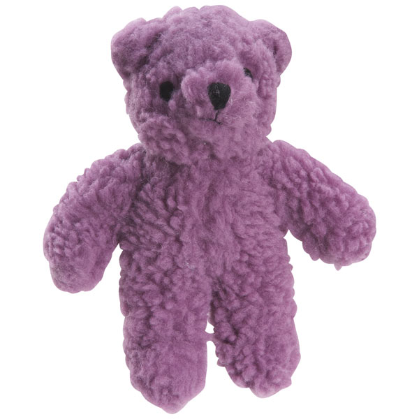 ZANIES BERBER BEARS DOG TOYS / Purple