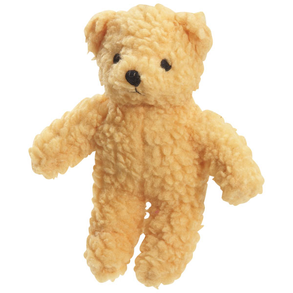 ZANIES BERBER BEARS DOG TOYS / Yellow