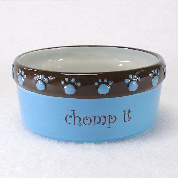 Pet Studio Cutie Paw Pet Dishes 16oz/ブルー