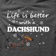 Dachshund _BDarkGrey