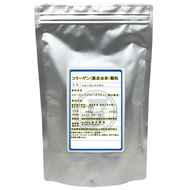 コラーゲン(豚皮由来)顆粒(1袋/250g)