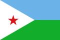 ジブチ 国旗[90×135cm]特価