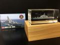 護衛艦ひえい(3Dクリスタル・木製台・コレクションカード付)【送料無料】