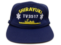 部隊識別帽(練習艦しらゆき)