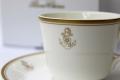 コーヒーカップ&ソーサー(桜に錨) 鳴海製陶製