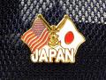 ピンバッチ(JAPAN[日本&アメリカ])