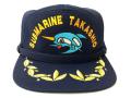 部隊識別帽(SS-571潜水艦たかしお(初代)[退役])佐官用