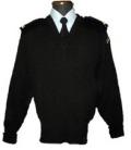 海上自衛隊・簡易セーター(Vネック)幹部・海曹用【※海上自衛官のみ販売※】