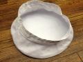 旧海軍制帽用白カバー(高田帽子店製)