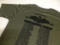 Tシャツ(海上自衛隊・歴代潜水艦名表記)