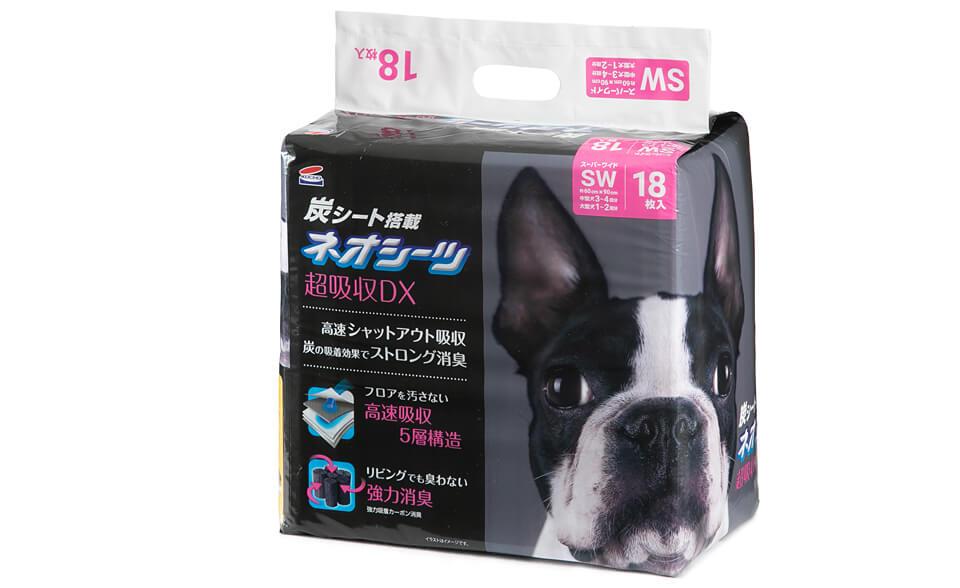 ネオシーツ+カーボンDXスーパーワイド18枚入×4パック