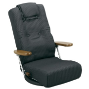 """腰にやさしい回転座椅子""""YS-1300HR"""" 長時間座っても疲れません"""