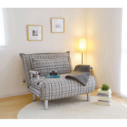"""1台3役のソファベッド """"ビータチェック"""" 大人っぽい雰囲気のチェック柄が3色、狭い場所でも ソファ と ベッド が使えます!"""