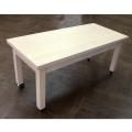 ポプラ材の優しい木目が魅力の木製テーブルDIS-567