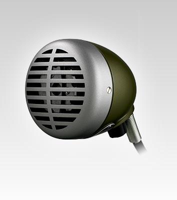 SHURE ハーモニカ用マイクロフォン 520DX