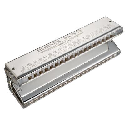 HOHNER バスハーモニカ Bass-78 M968/38/40