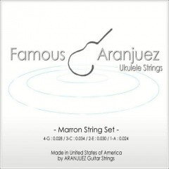 Famous(フェイマス)Aranjuez(アランフェス)Marron(マロン)弦set