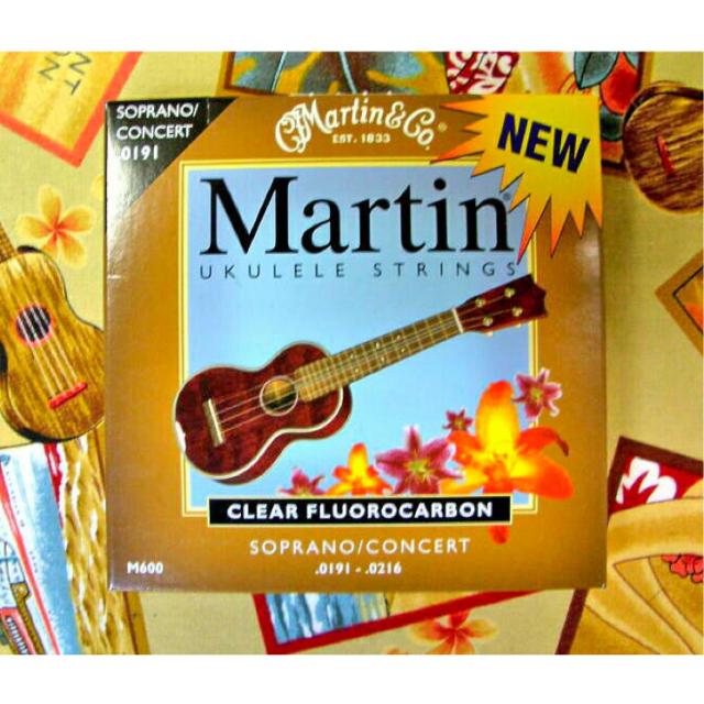 Martin クリア・フロロカーボン弦 (ソプラノ・コンサート用)