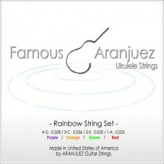 Famous(フェイマス)Aranjuez(アランフェス)rainbow(レインボー)弦